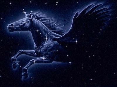 calendrier des lunes janvier - constellation pégase
