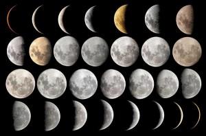 calendrier lunaire phases de la lune