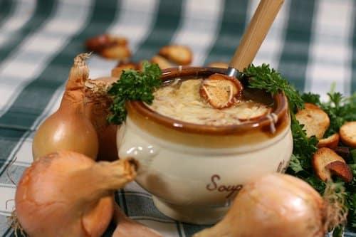 calendrier lunaire recette soupe à l'oignon