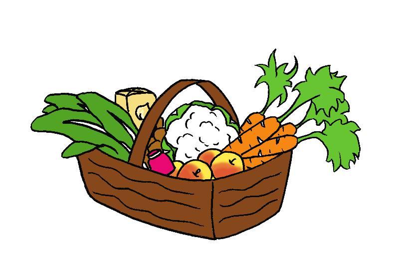 calendrier lunaire - panier fruits et legumes